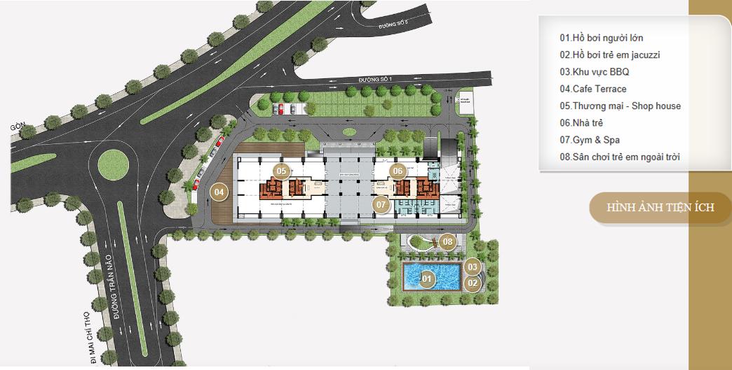 dự án căn hộ Bình An Pearl quận 2