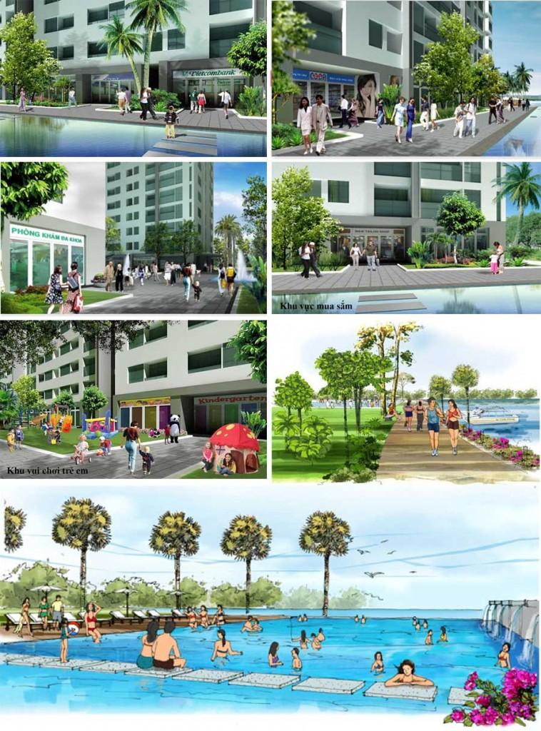 Cho thuê căn hộ chung cư 4S Riverside Linh Đông