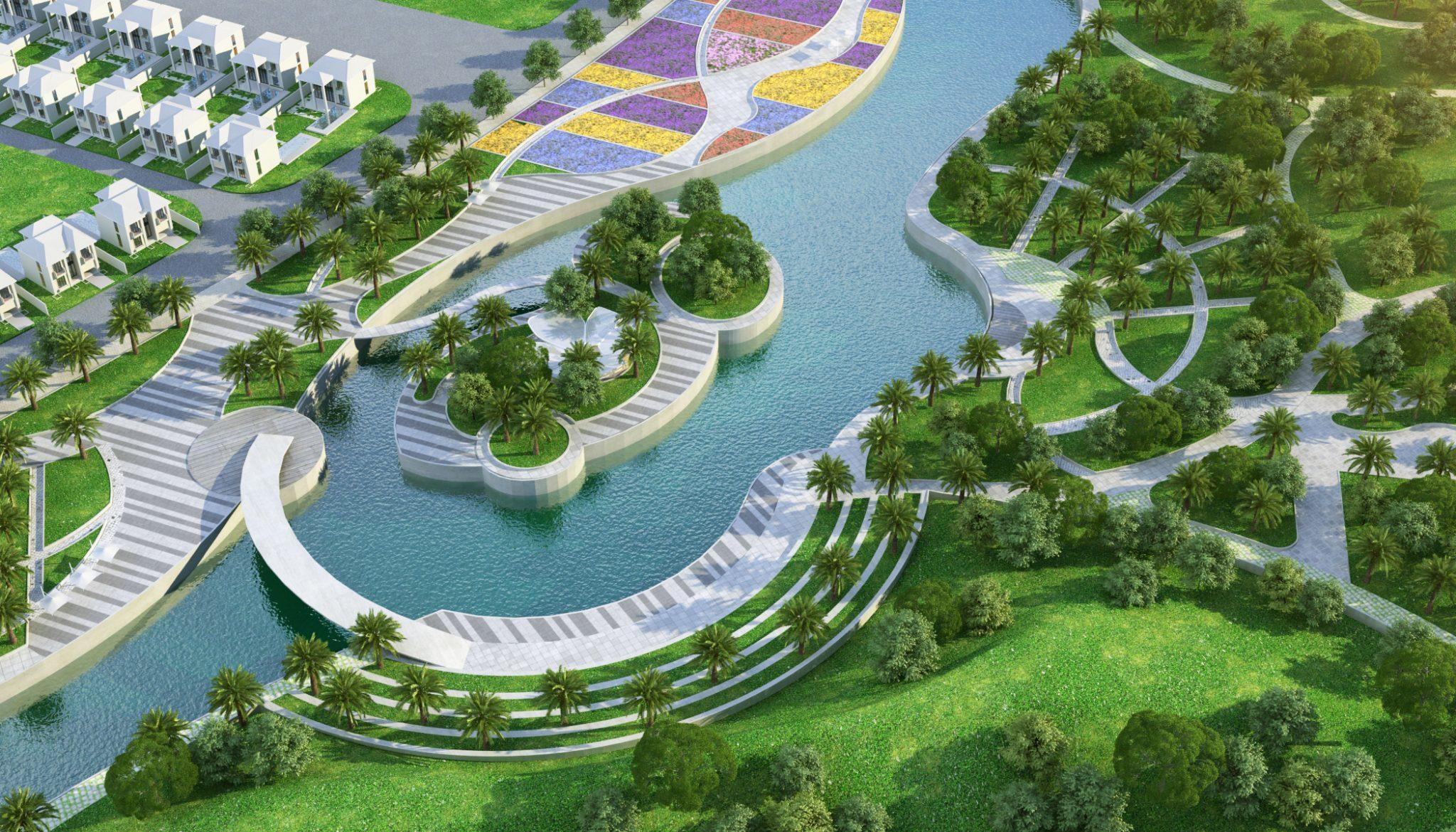 dự án Palm Marina