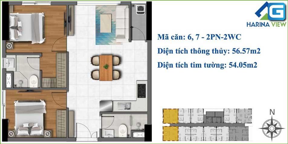 dự án căn hộ chung cư Harina View Thủ Đức