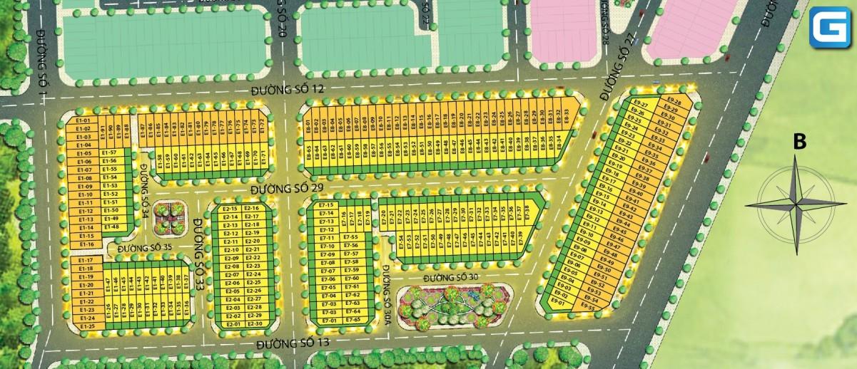 dự án đất nền T&T Millennia City Long Hậu