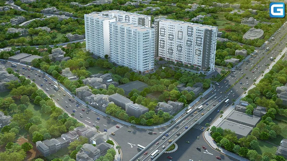 dự án căn hộ chung cư An Dân Residence Thủ Đức