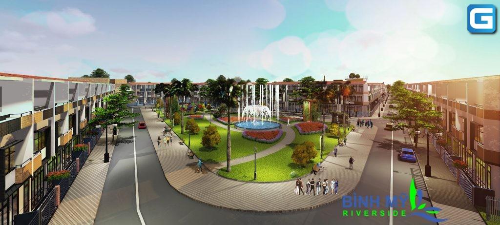 Khu dân cư Bình Mỹ Riverside Huyện Củ Chi đánh thức tiềm năng kinh tế khu vực