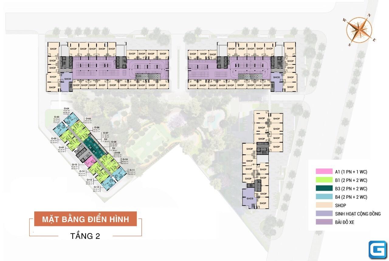 Trải nghiệm sự trong lành với Dự án chung cư hạng sang Aio City