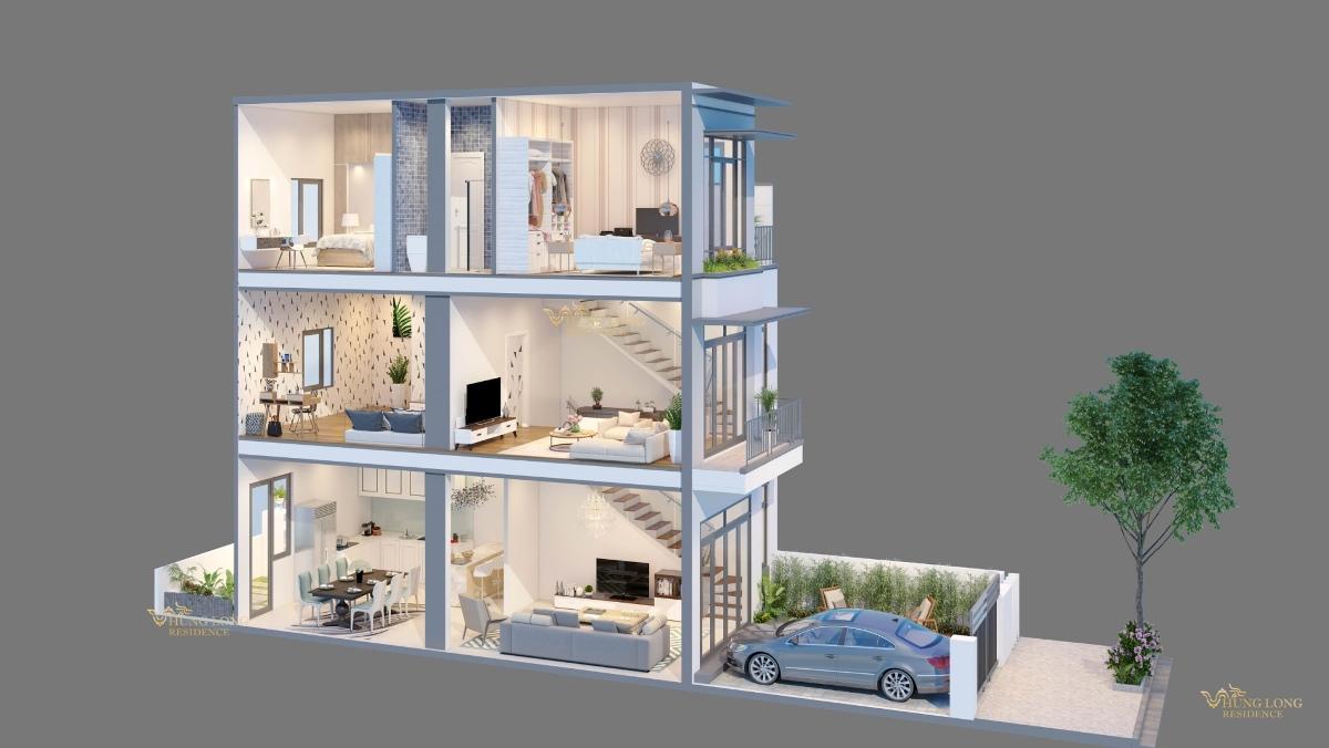 dự án đất nền hưng long residence tân mỹ đức hòa long an