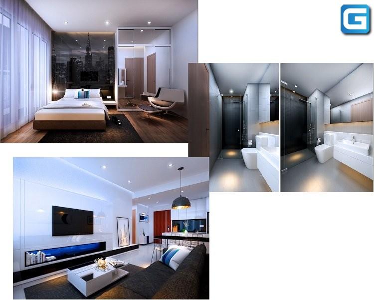 dự án căn hộ chung cư TDH RiverView Thủ Đức