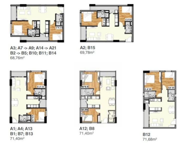Cho thuê căn hộ cao cấp Lavita Charm mạnh mẽ sinh động đầy cá tính
