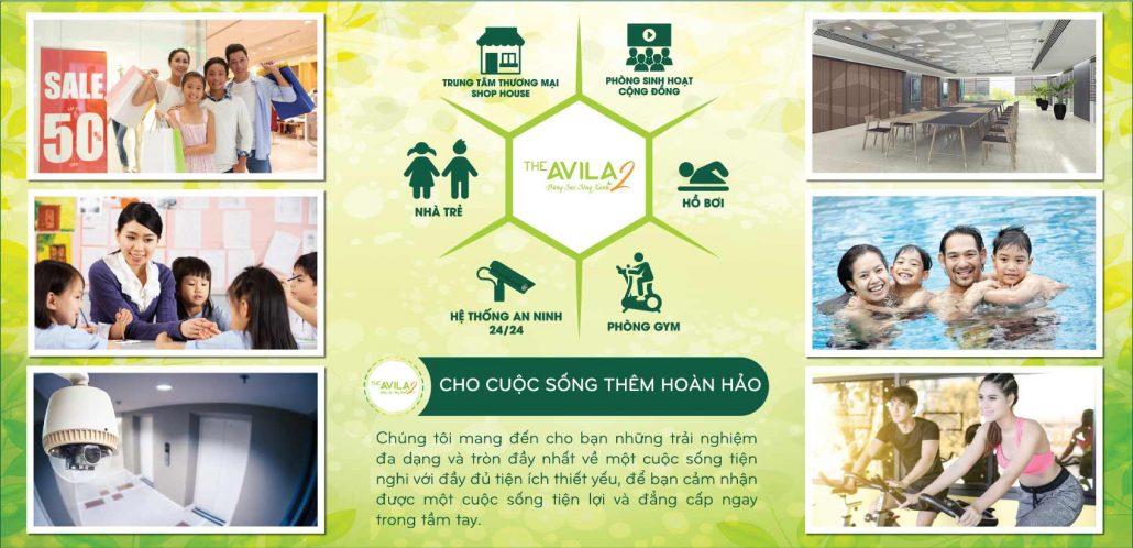 dự án căn hộ The Avila 2 quận 8