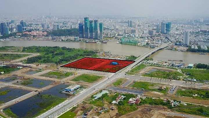 dự án căn hộ Thủ Thiêm River Park