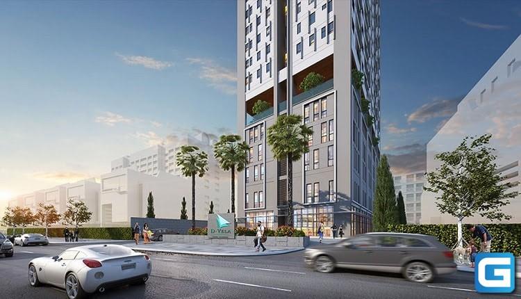 dự án căn hộ D-Vela huỳnh tấn phát quận 7