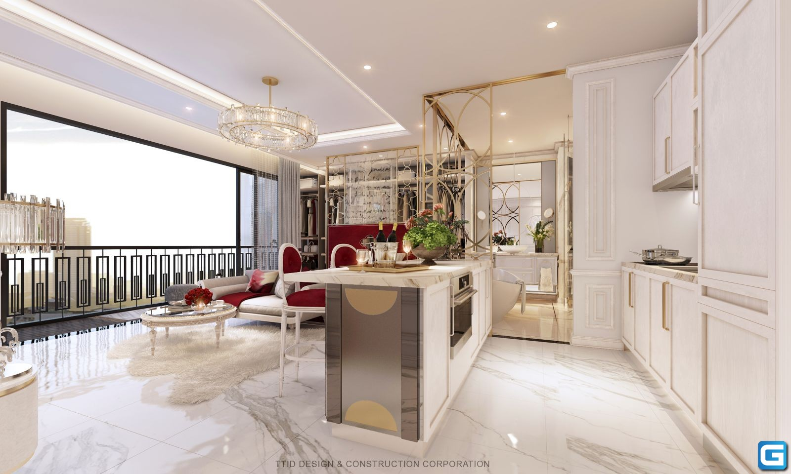 dự án căn hộ Rome By Diamond Lotus