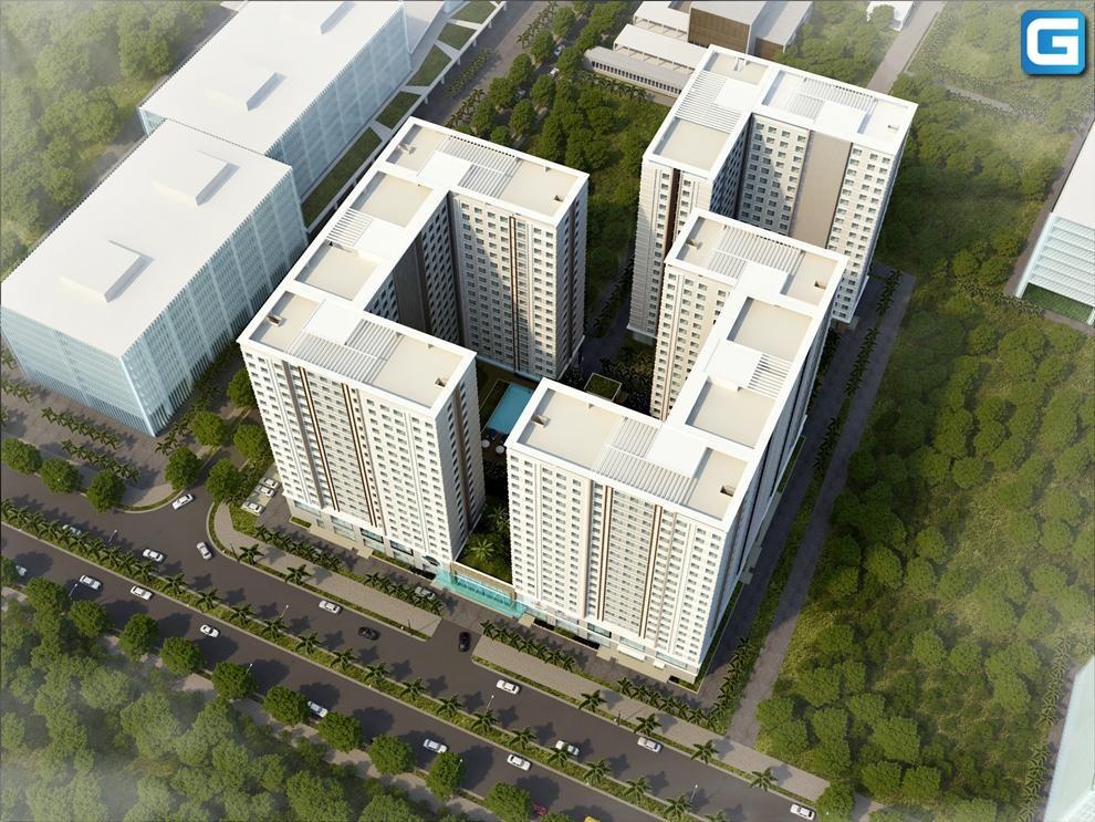 dự án căn hộ chung cư Topaz Home quận 12