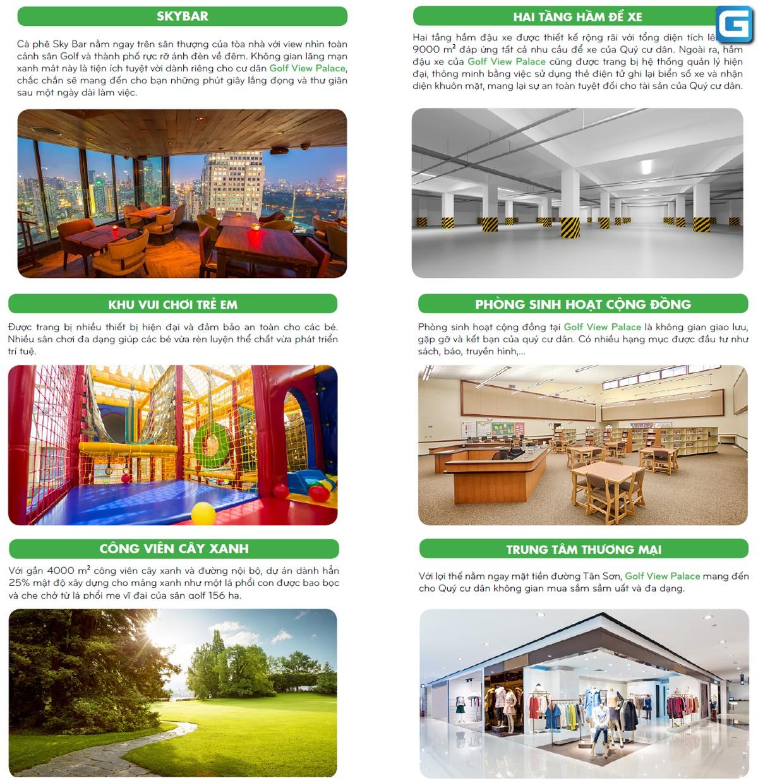 dự án căn hộ Golf View Place Tân Sơn Tân Bình