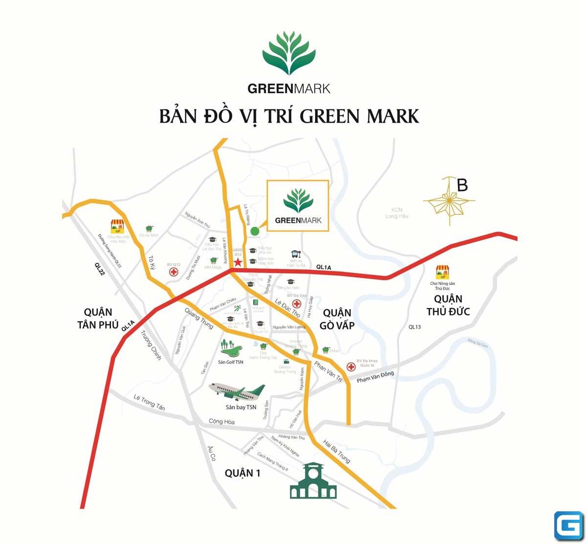 Căn hộ Green Mark