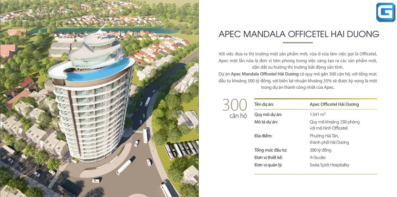 dự án căn hộ Apec Mandala Wyndham Hải Dương
