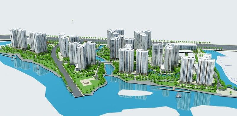 dự án căn hộ Water bay quận 2
