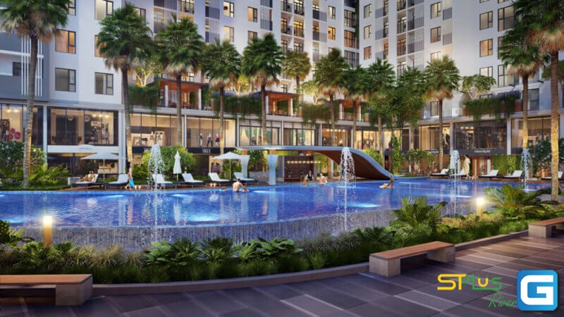 dự án căn hộ chung cư STPlus Riverview