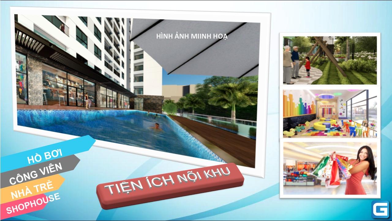 dự án căn hộ chung cư Bcons Garden Dĩ An Bình Dương