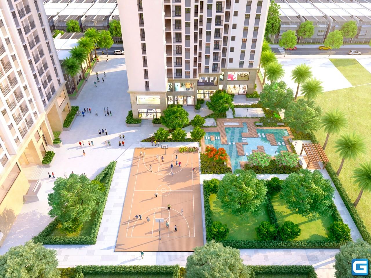 dự án căn hộ chung cư Stown Gateway bình dương