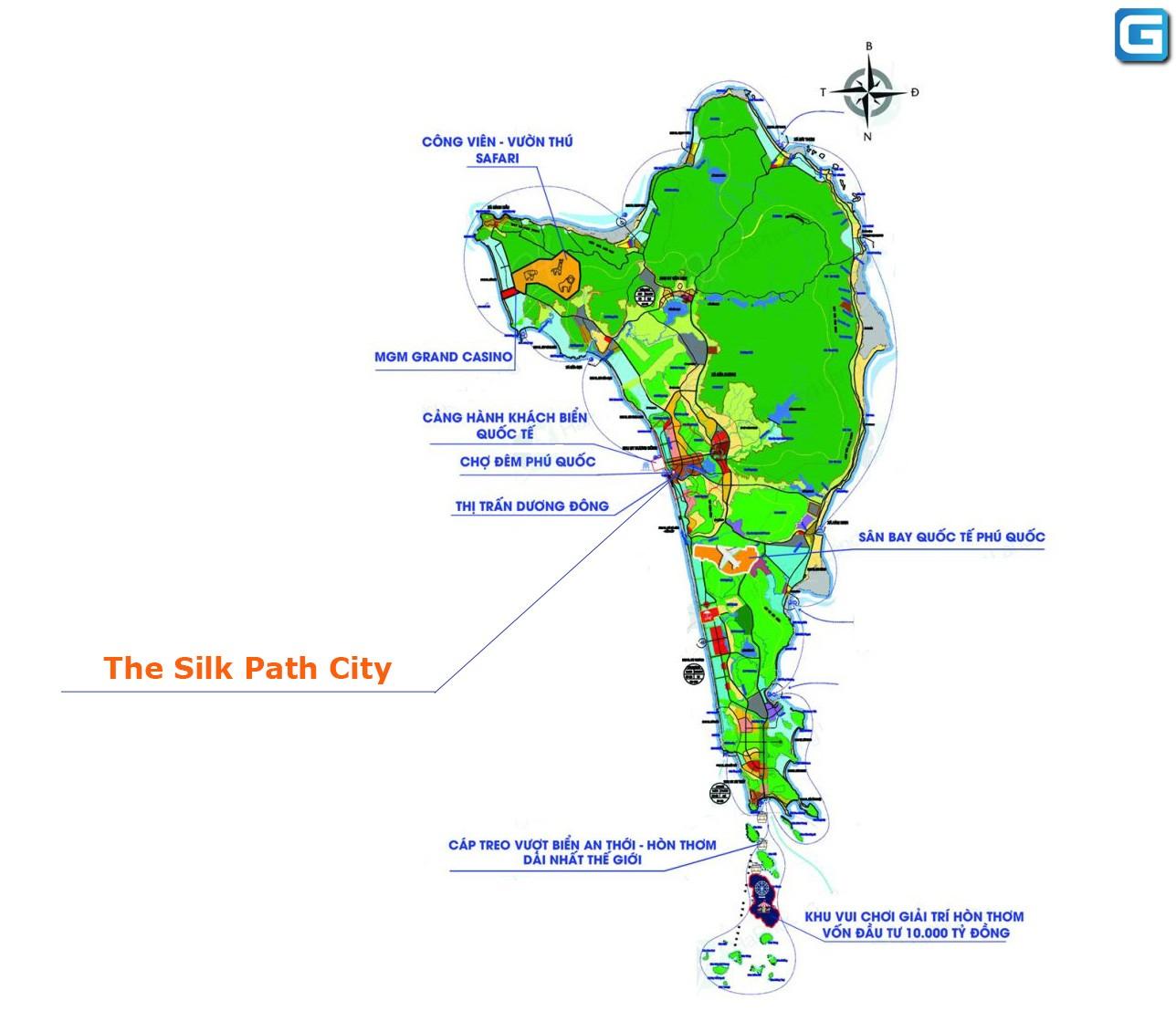 The Silk Path City