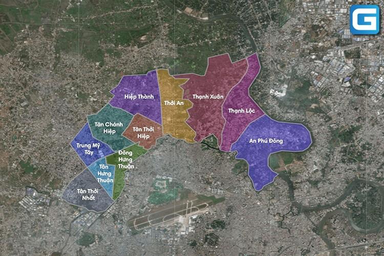 Căn hộ Quận 12 – Tổng hợp đầy đủ dự án Quận 12 năm 2020