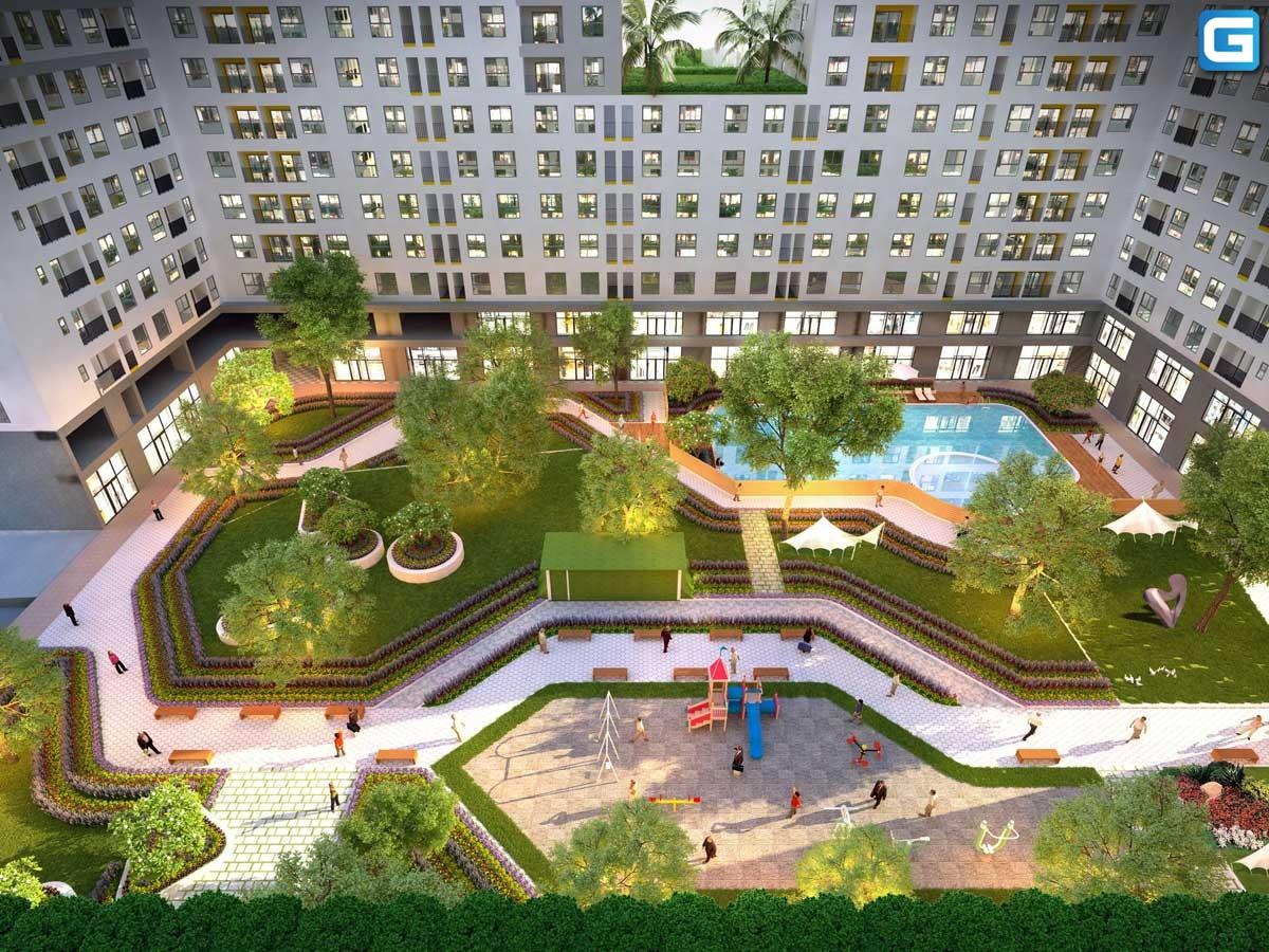 dự án căn hộ West Gate Park Bình Chánh