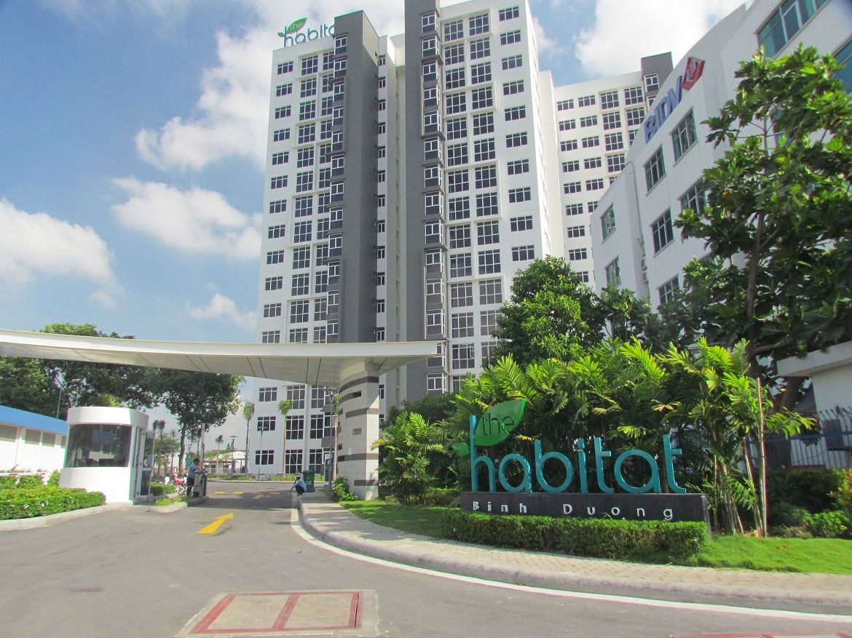 dự án căn hộ chung cư The Habitat Bình Dương