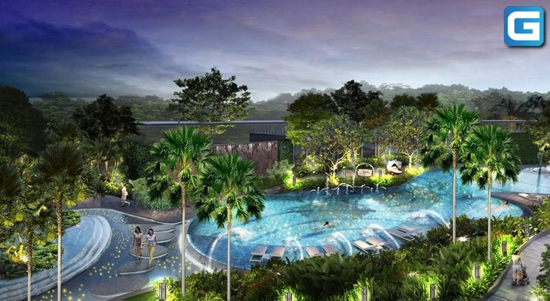 dự án căn hộ Palm Garden Quận 2