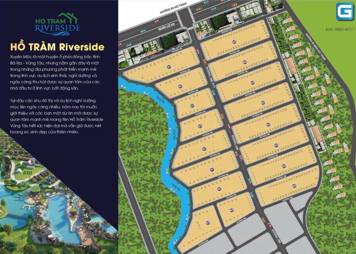 Hồ Tràm Riverside