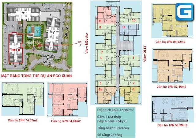 Eco Xuân Sky Residences