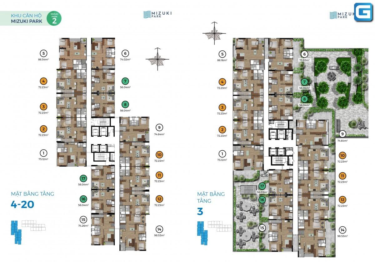 dự án Mizuki Park Nam Long Bình Chánh