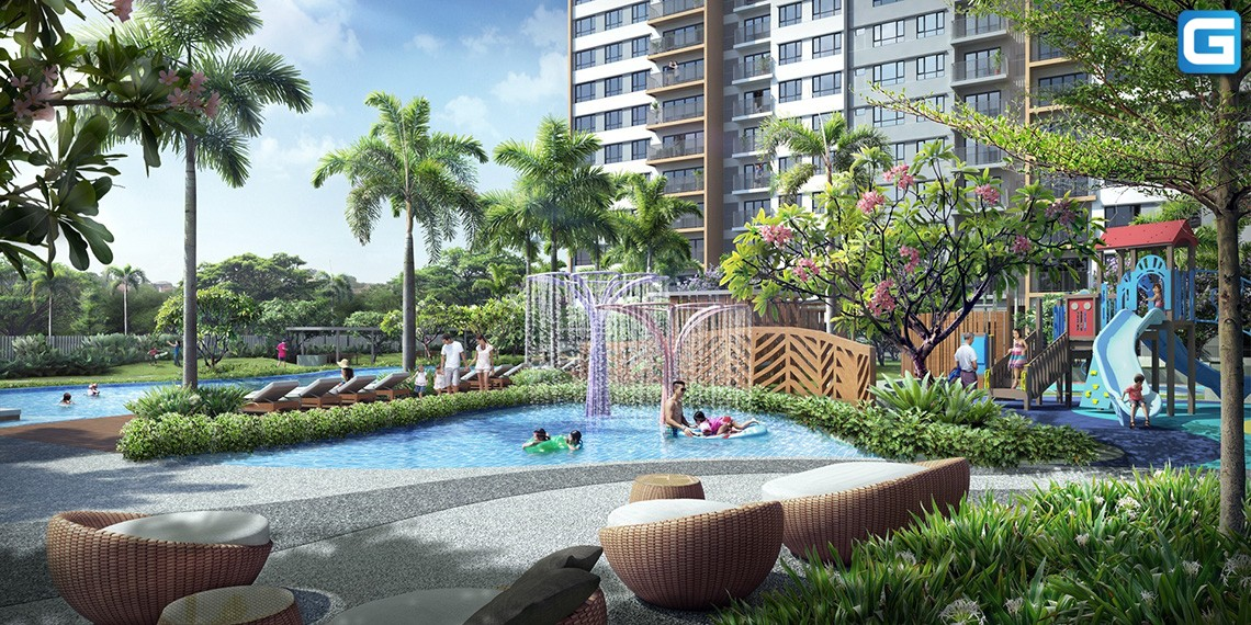 dự án khu đô thị căn hộ Palm City Quận 2
