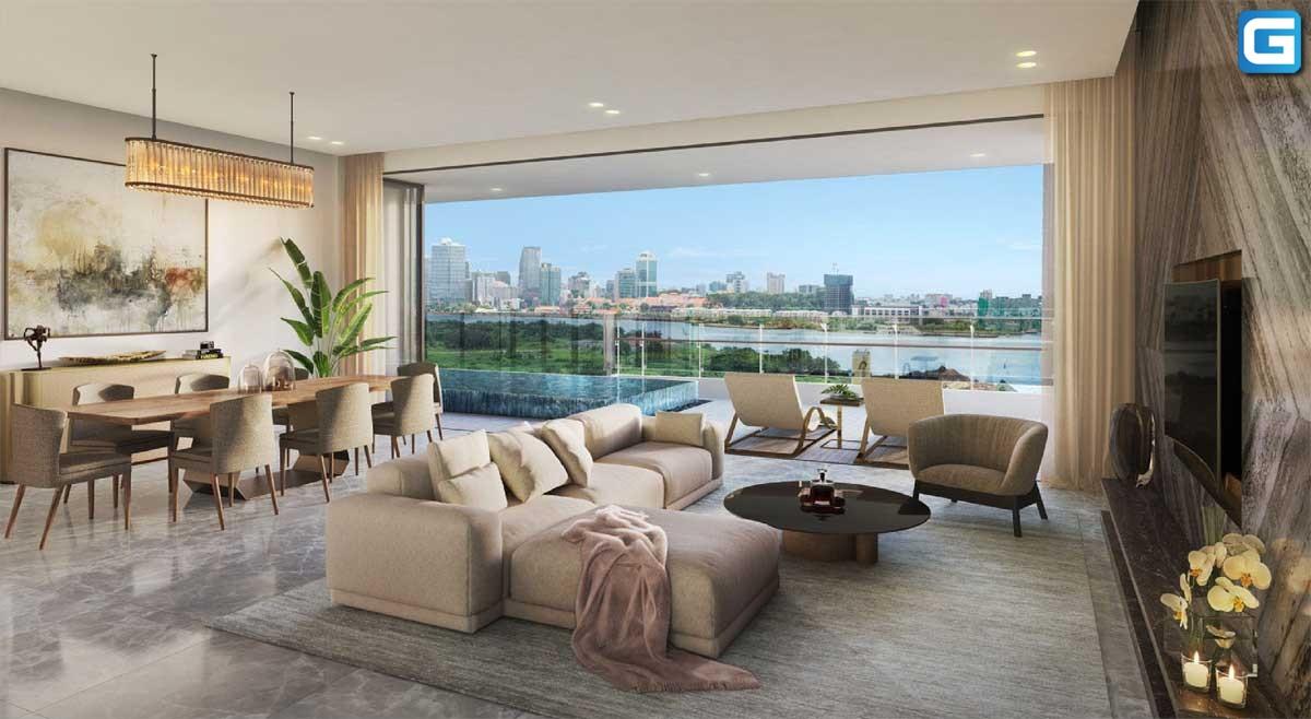 Dự án căn hộ cao cấp The River Thủ Thiêm nên mua vào thời điểm nào