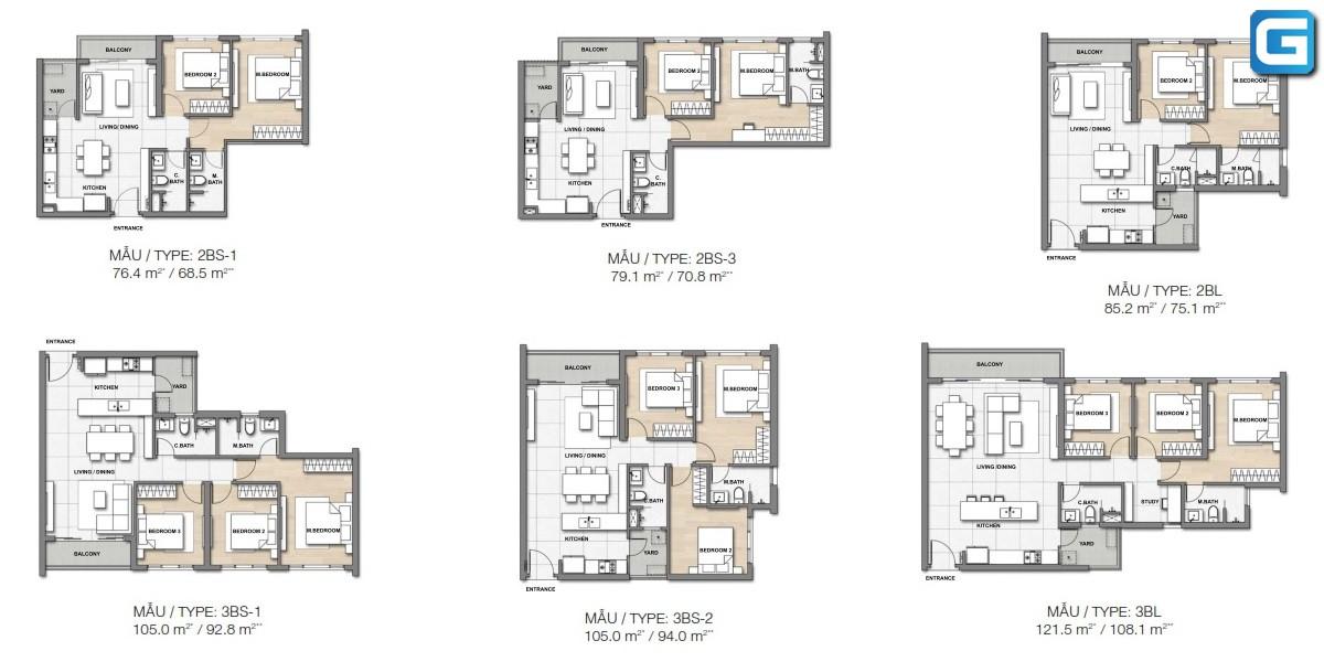 dự án căn hộ Palm Heights Quận 2