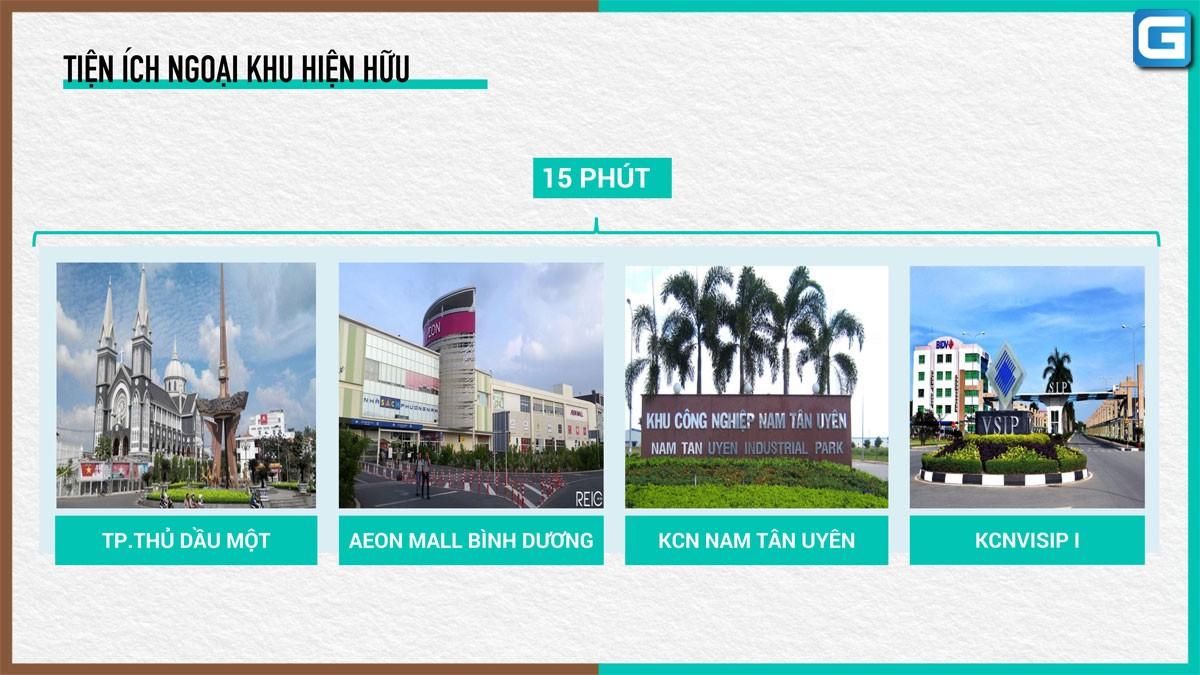dự án đất nền Tân Phước Khánh Village Bình Dương