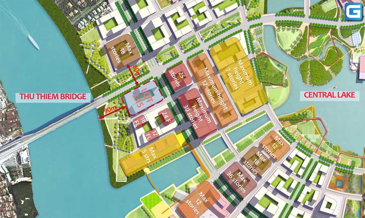 dự án căn hộ The River Thủ Thiêm Quận 2