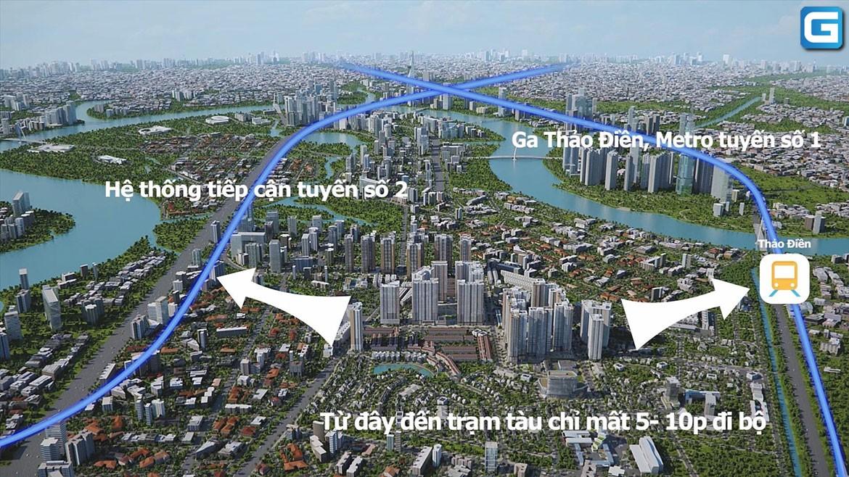 dự án căn hộ Laimian City Quận 2