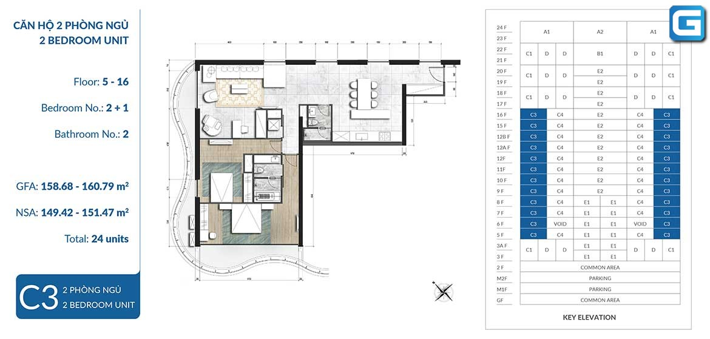dự án căn hộ Waterina Suites Quận 2