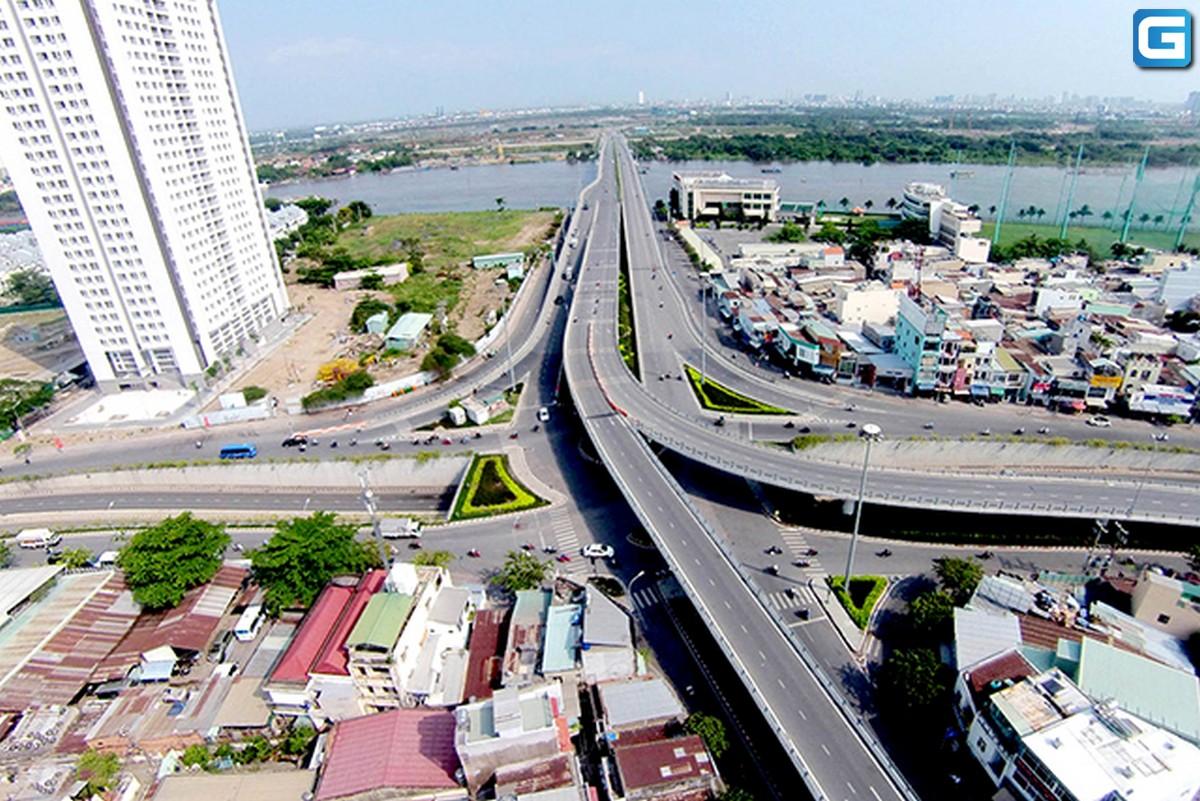 Cầu Thủ Thiêm 1 kết nối Bình Thạnh và Quận 2 trong năm 2020 như thế nào ?