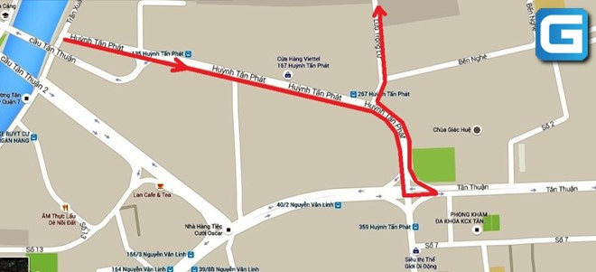 Đường Huỳnh Tấn Phát – Quy Hoạch và các dự án xung quanh 2020