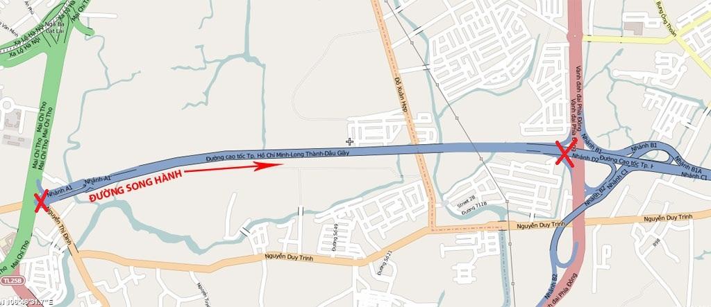 Đường Song Hành Cao tốc Quận 2 – Tiến độ quy hoạch mới 2020