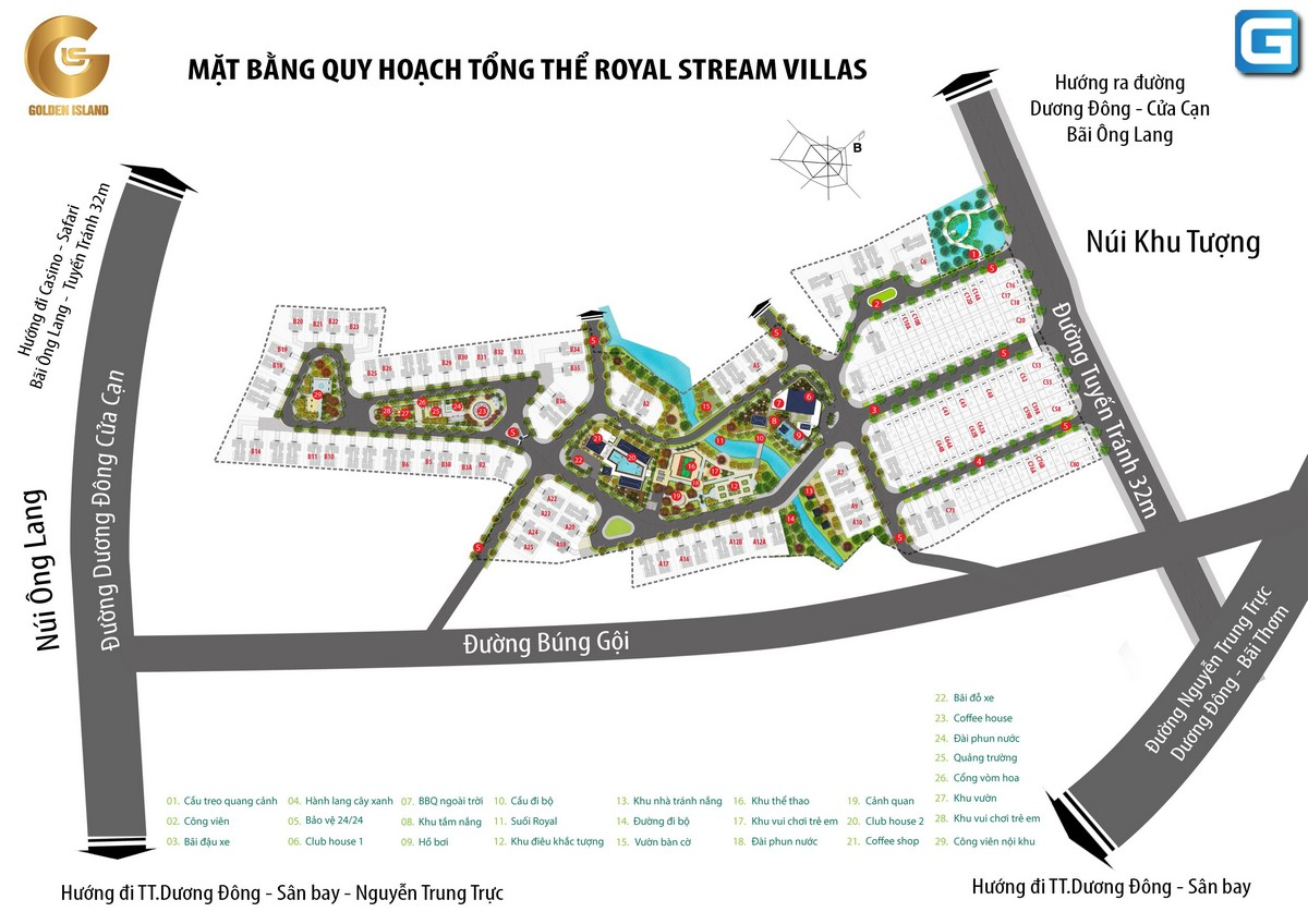 Royal Streamy Villas Phú Quốc