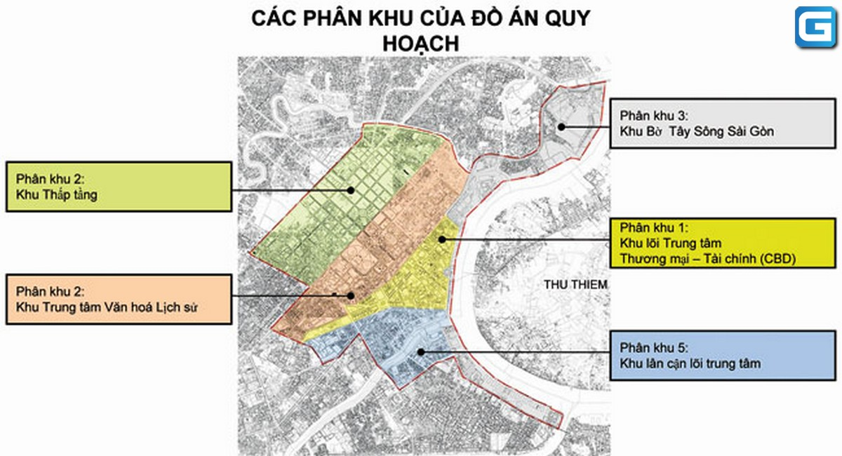 Quy hoạch khu trung tâm Thành Phố