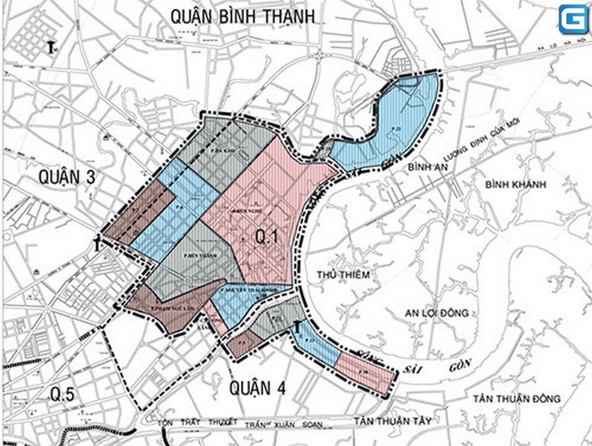 Quy hoạch lõi trung tâm Thành Phố 930 ha