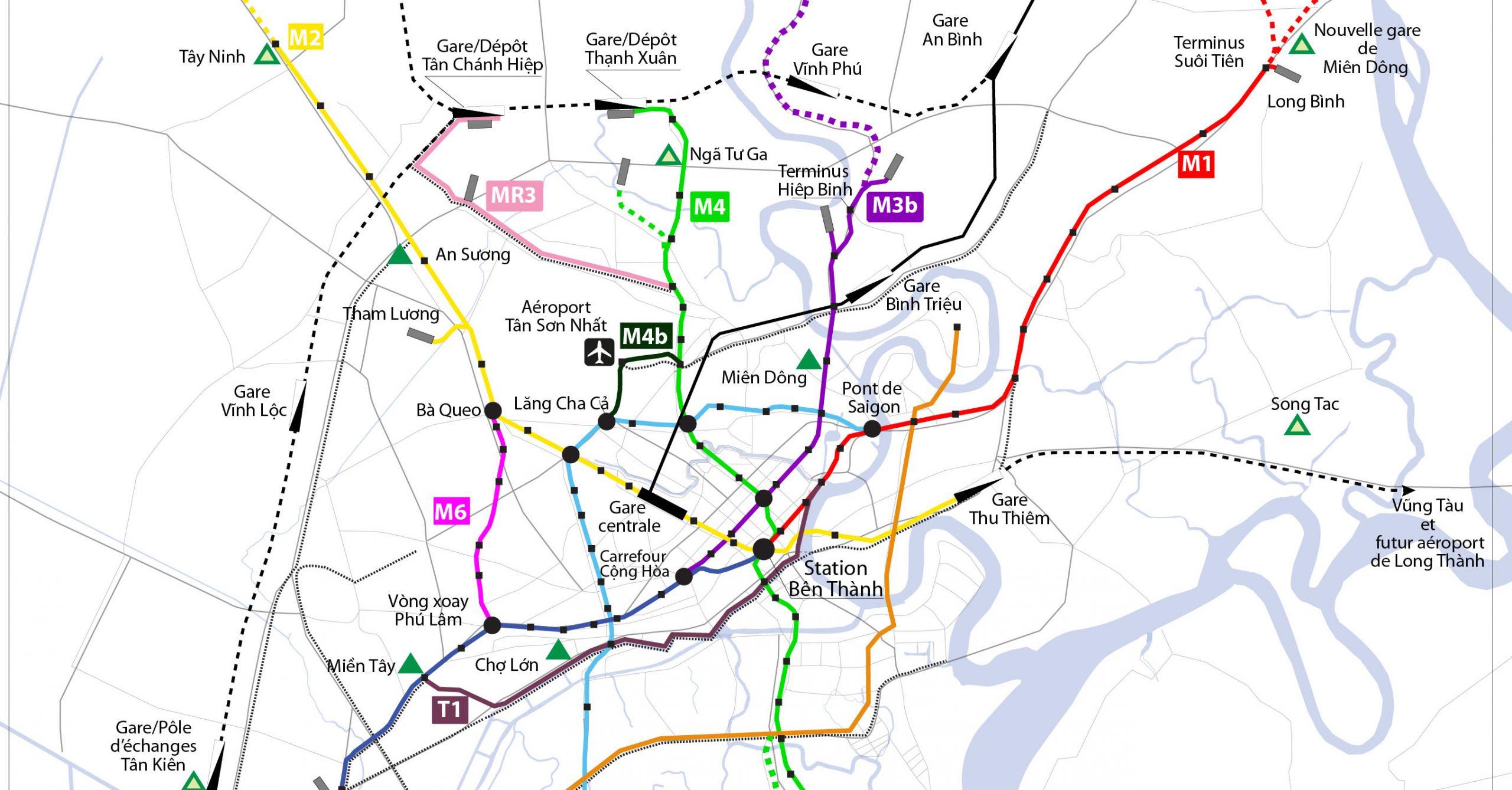 Tuyến metro số 4 khi nào khởi công