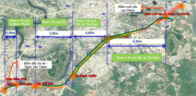 Tuyến Metro Số 1 Bến Thành Suối Tiên khi nào hoàn thành ?