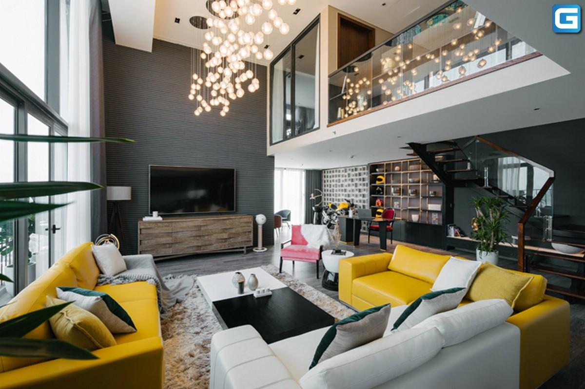 Thiết kế căn hộ Duplex như 'gallery' thu nhỏ ở Tây Hồ