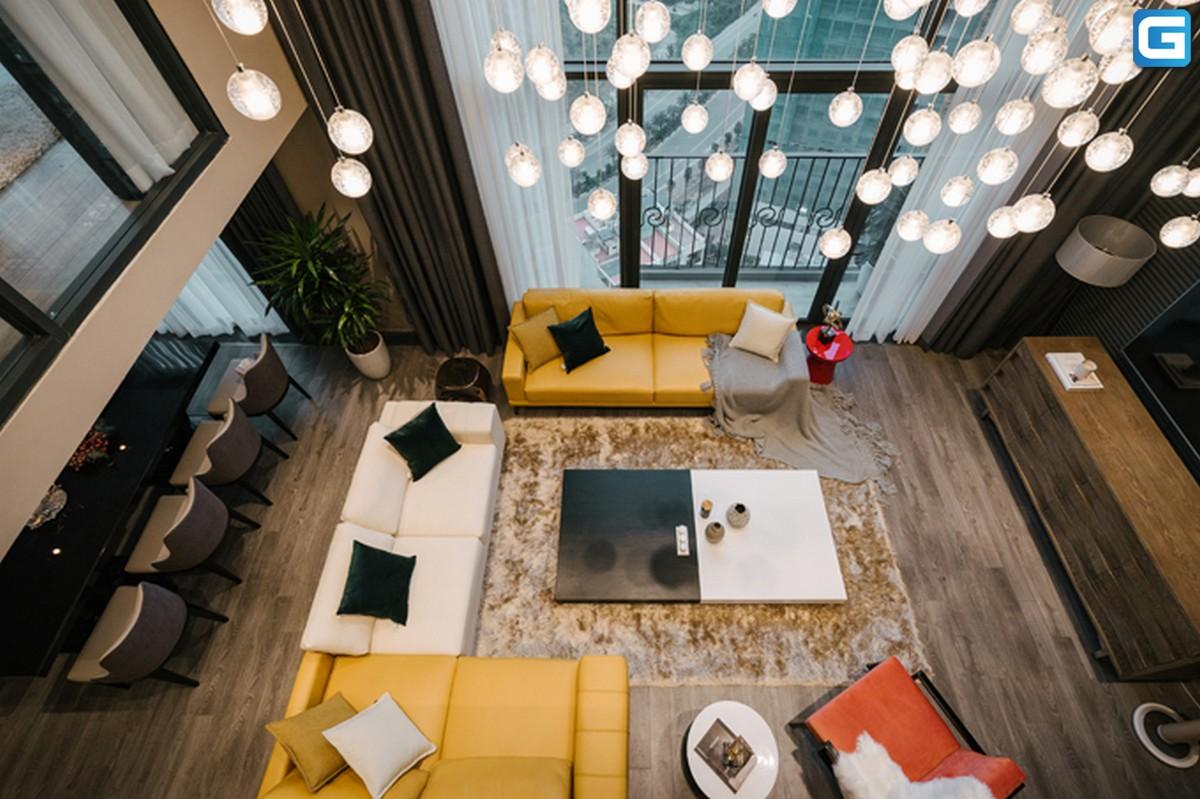 Thiết kế căn hộ thông tầng Dulex