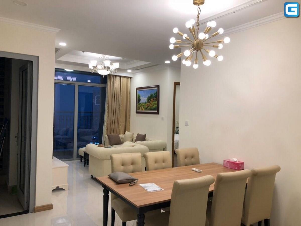 Cho thuê 2PN Landmark Plus Vinhomes Central Park, Tầng Cao View Nguyễn Hữu Cảnh, giá rẻ