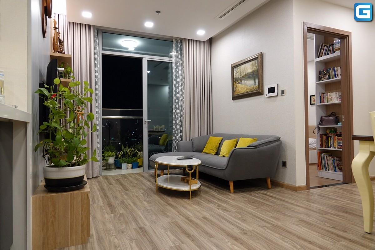 Cho thuê căn hộ 3PN Park 7 Vinhomes Central Park, đầy đủ nội thất